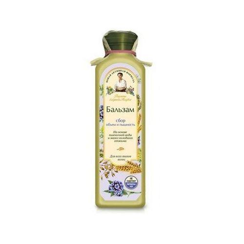 Pierwoje reszenie, rosja Babuszka agafia balsam do włosów jasny - blask i siła do wszystkich rodzajów włosów 350ml