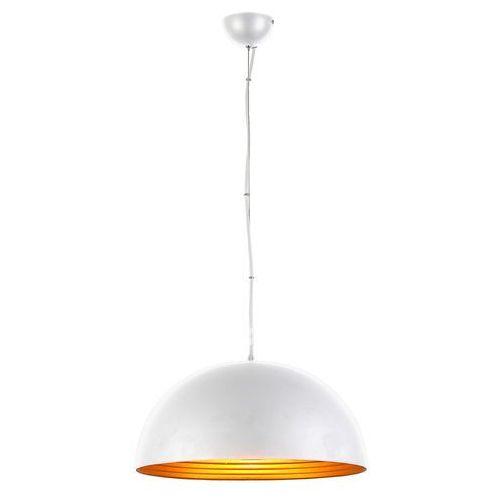 MODENA 40 LAMPA WISZĄCA FB6838-40 WHITE/GOLD AZZARDO, FB6838-40 WH/GO