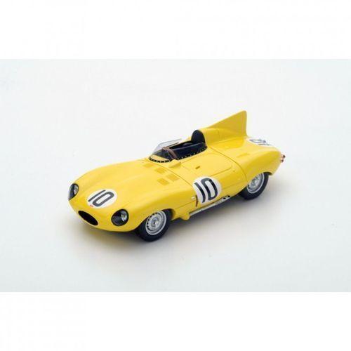 Jaguar D Type #10 J. Claes/J. Swaters 3rd Le Mans 1955