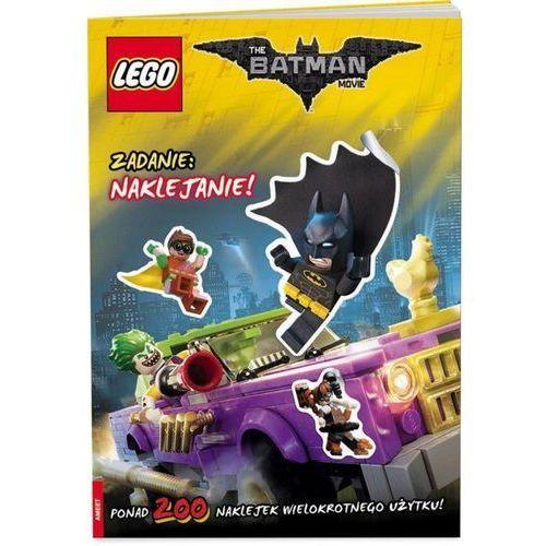Lego Batman Movie. Zadanie: naklejanie!, oprawa miękka