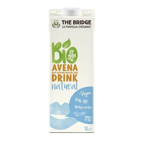 121the bridge Napój mleko owsiane naturalne 1l - the bridge - eko hit! (8019428000105)