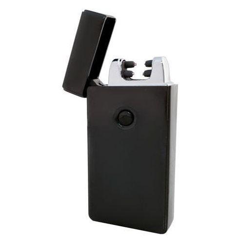 Zapalniczka plazmowa 2 łuki - czarna + kabel USB