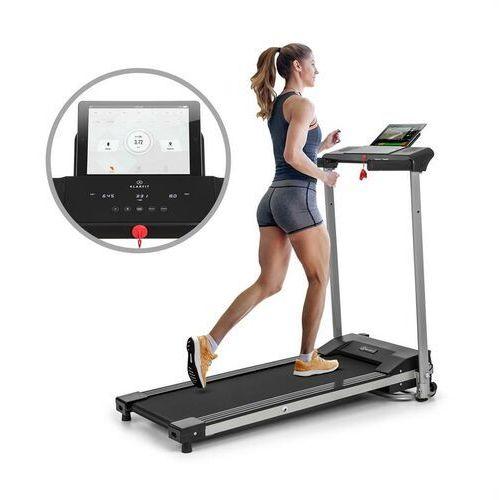 treado active, bieżnia, 1 km, 10 km/h, 36 x 100 cm, bluetooth, ekran dotykowy marki Klarfit