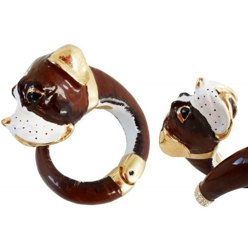 Mosiężna bransoletka Pasotti Br K22 - Mastiff Bracelet
