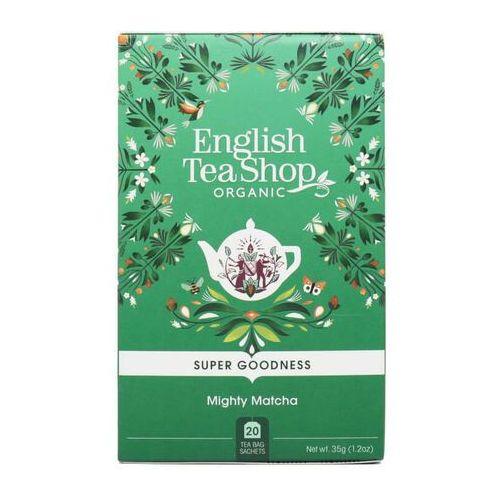 English tea sho Herbata zielona mighty matcha 20x1,75g bio 35 g p
