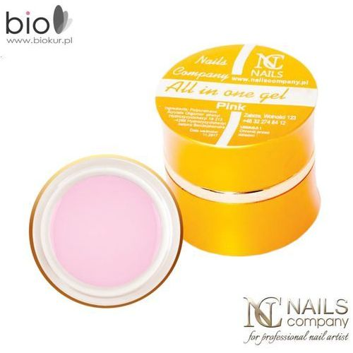 Nails company Gel all in one pink jednofazowy – – 15 g