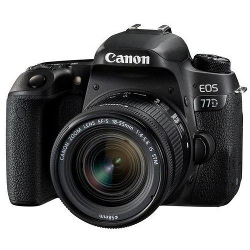 Canon EOS 77D, lustrzanka cyfrowa