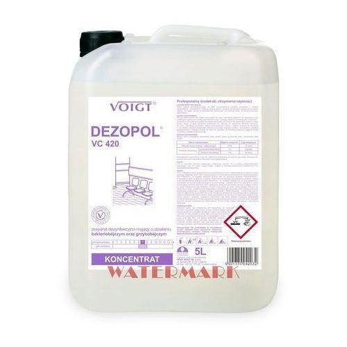 Dezopol 5 l gdy najważniejsza jest dezynfekcja - vc 420 marki Voigt