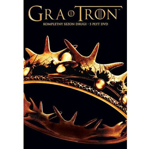 Gra o tron, sezon 2 (5 dvd) 7321909323018 marki Galapagos films