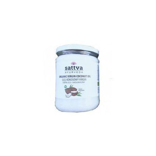 Bio olej kokosowy 100% z pierwszego tłoczenia nierafinowany sattva 220ml marki Sattva india