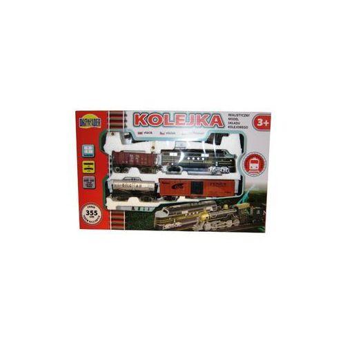 Dromader kolejka średnia 355 cm+3 wagony (5900360005071)