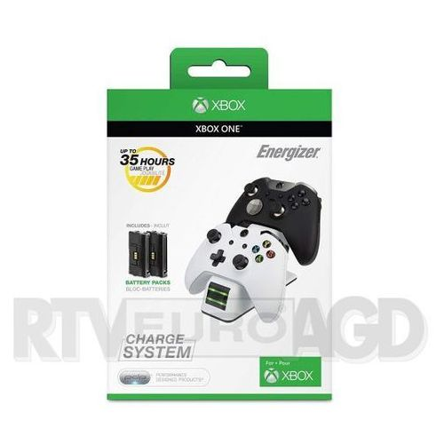 Pdp xbox one energizer 2x charge system 0018-eu-wh