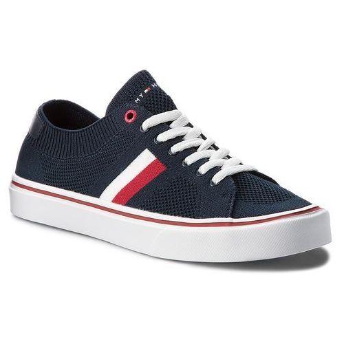 Tenisówki TOMMY HILFIGER - Lightweight Corporate Sneaker FM0FM01619 Midnight 403