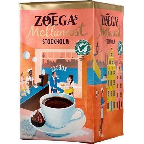 Zoega's Mellanrost Stockholm - kawa mielona - 450g