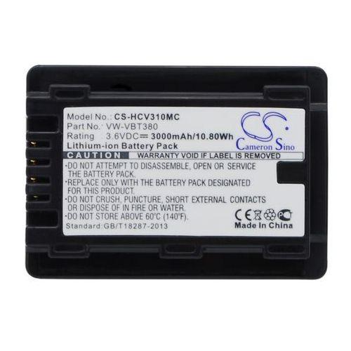 Panasonic HC-VX870 / VW-VBT380 3000mAh 10.80Wh Li-Ion 3.6V (Cameron Sino), kup u jednego z partnerów