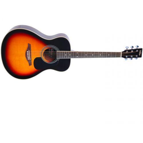 v300vsb gitara akustyczna, solid top, sunburst marki Vintage