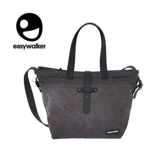 torba do wózka z akcesoriami płótno czarny denim uniwersalna marki Easywalker