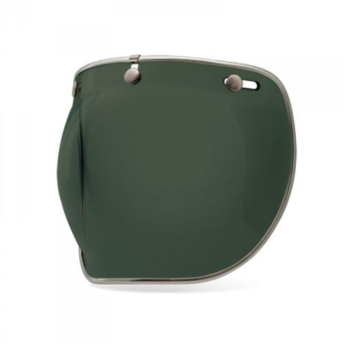 Bell Szyba custom 500 deluxe bubble wayfarer green