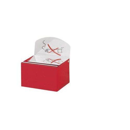 Var fahrzeug- und apparatebau Popielniczka ścienna z szyldem, blacha stalowa, wys. x szer. x głęb. 87x140x98 m