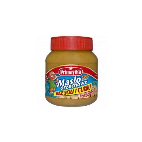 Masło orzechowe bez soli i cukru 350 g Primavika
