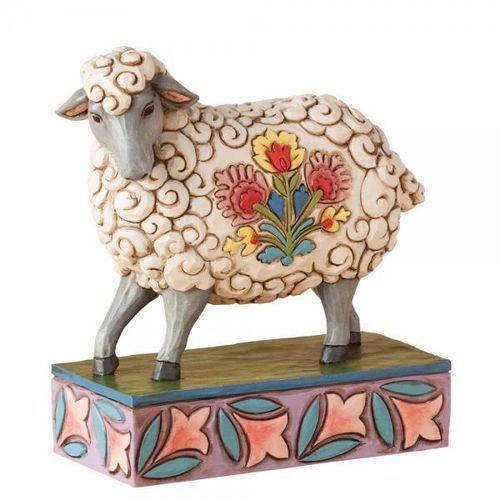 Jim shore Owieczka wielkanocna (gentle as a lamb), zwierzęta, 4039494 figurka ozdoba świąteczna