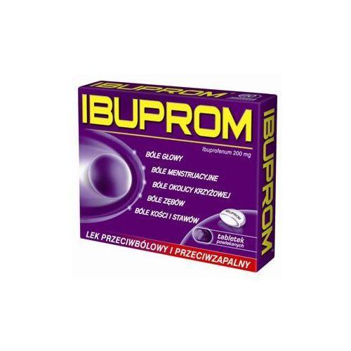 Ibuprom tabl.powl. 0,2 g 6 tabl. (1 blist.po 6 szt.) (tabletki)