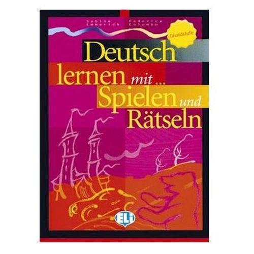 Deutsch Lernen mit... Spielen und Rätseln. Grundstufe, oprawa miękka