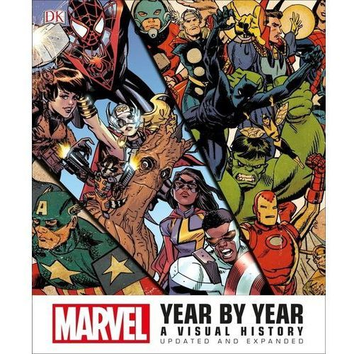 Marvel Year by Year Updated and Expanded, oprawa twarda