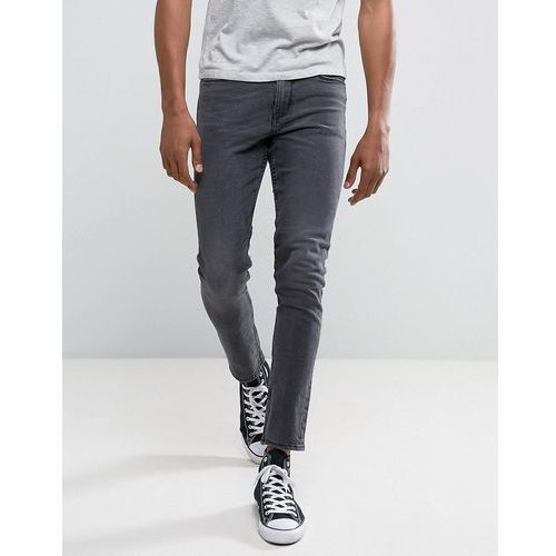 New Look Skinny Fit Jeans In Washed Black - Black, jeans