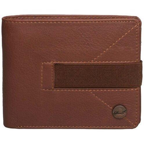 Reell Portfel - strap leather wallet cognac (cognac) rozmiar: os