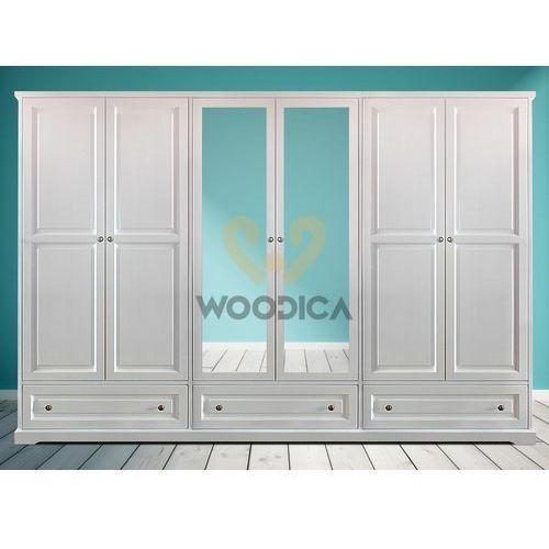 Szafa parma 14 z lustrem [6d+3s], marki Woodica