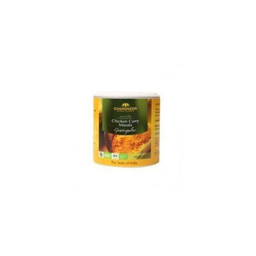 Przyprawa do dań z kurczaka Chicken Curry Masala ORGANICZNA80g Cosmoveda, 4032108129723