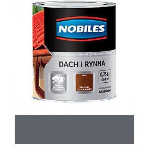 NOBILES DACH I RYNNA-Szary grafitowy RAL 7024 -0,75L