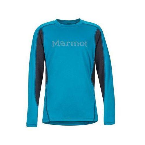 Koszulka sportowa UV Marmot Windridge długi rękaw niebieski