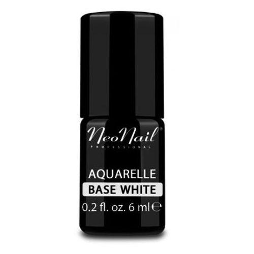 aquarelle base white baza biała do lakieru hybrydowego aquarelle marki Neonail