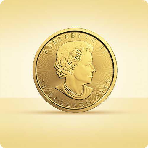 Kanadyjski Liść Klonowy 1 uncja złota - wysyłka 24 h! - 24h