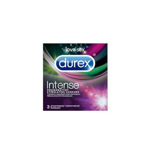 Durex 3szt intense prezerwatywy | darmowa dostawa od 150 zł!
