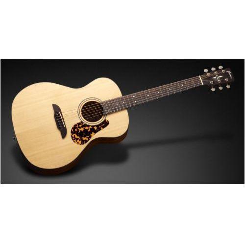 fg 14 sv - vintage transparent satin natural tinted gitara akustyczna marki Framus