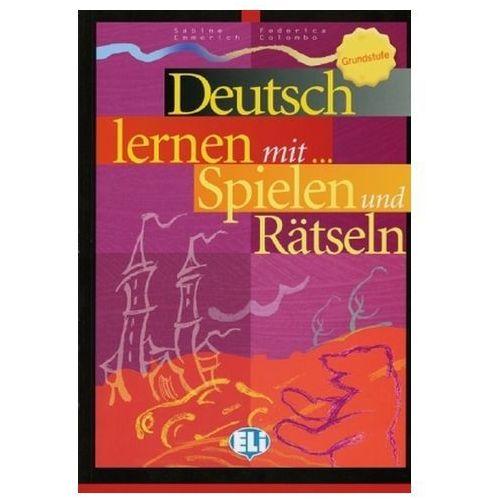 Deutsch lernen mit ... Spielen und Rätseln, Grundstufe (9783125344464)