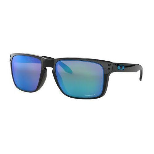 Okulary holbrook xl polished black prizm sapphire iridium oo9417-0359 marki Oakley