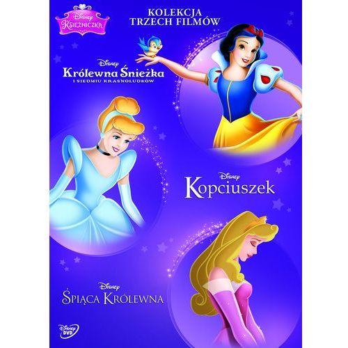 Disney księżniczka. pakiet (3 dvd) (kopciuszek, śpiąca królewna, królewna śnieżka i siedmiu krasnoludków) (7321917505420)