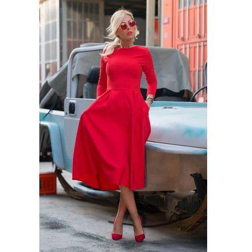 Sukienka JASMINA RED