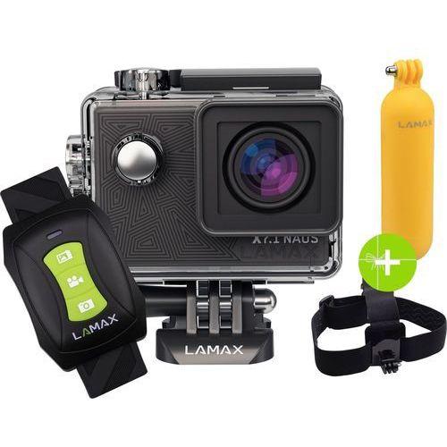 Kamera sportowa LAMAX X7.1 Naos + AKCESORIA + karta pamięci KINGSTON 32GB Class10 U3 ★★★ ZOBACZ Zestawy Specjalne ★★★