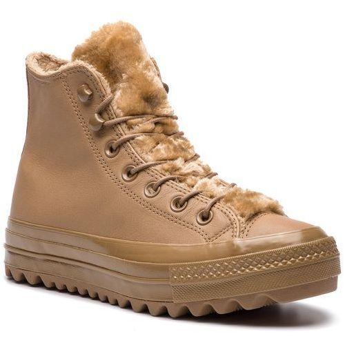 Sneakersy - ctas lift ripple hi 562424c teak/teak/teak, Converse, 36-38