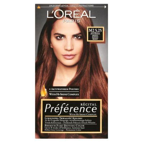 Loreal recital preference farba do włosów m2 5.25 marki L'oréal paris