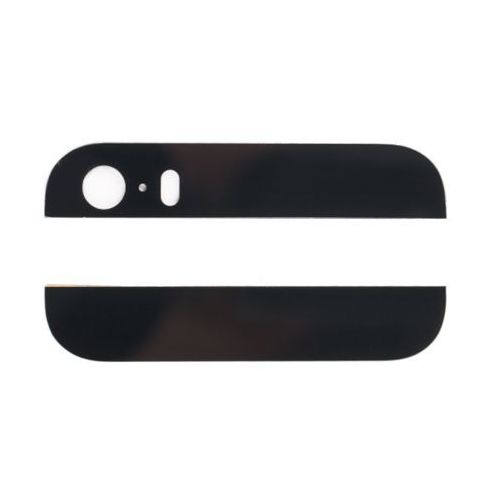 Tylne Szkiełka Obudowy iPhone 5S (Czarny)