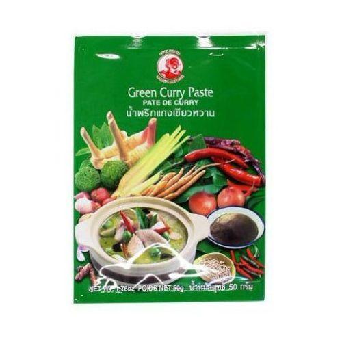 Cock brand Pasta curry zielona 50g