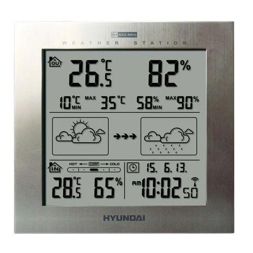 Stacja pogody ws2244m srebrny marki Hyundai