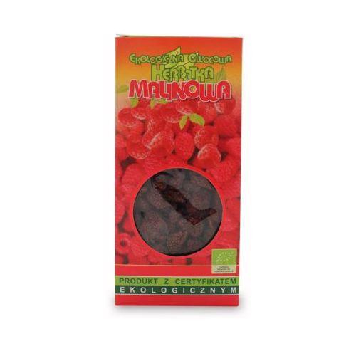 80g herbata malinowa liściasta bio marki Dary natury