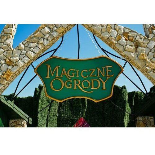Dzień z rodziną w parku rozrywki Magiczne Ogrody